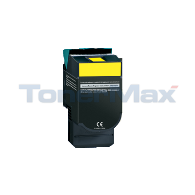 LEXMARK CV54X/XV544 TONER CART YELLOW HY RP